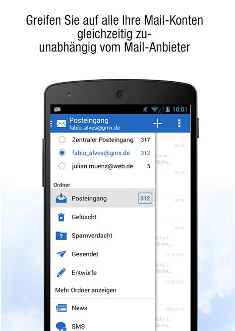 GMX Adressbuch synchronisieren Android - search for gmx